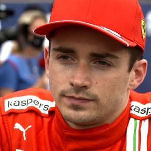 シャルル・ルクレール 「タイヤが3周か4周走るとひどいデグラデーションが起きる」