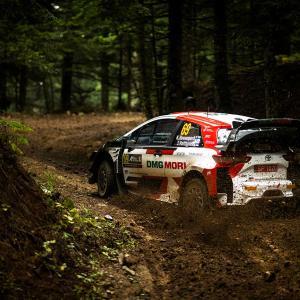 【WRC】『神々のラリー』で英雄のごとく主役を演じたロバンペラ。その飛ぶような速さにオジエも脱帽