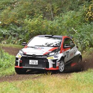 【JRC】第9戦ラリー・北海道 : 勝田範彦がグラベル2連勝