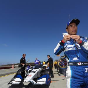 【インディ】コークスクリューで痛恨のスピン、佐藤琢磨「レースではスピードがあって何台も抜けた」
