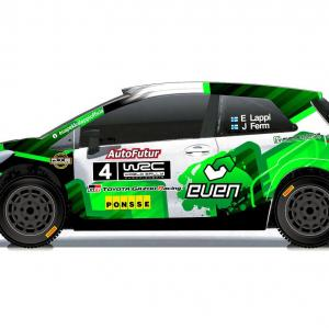 【WRC】ヤリスWRCでラリー・フィンランド参戦予定のラッピ、マシンのカラーリングを公開