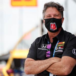 F1チーム買収の噂が飛び交うアンドレッティ。マイケルは参戦に向け「取り組んでいる」と父マリオ