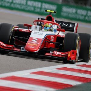 【F2】FIA-F2第6戦ロシア予選 : オスカー・ピアストリがポール。佐藤万璃音は20番手