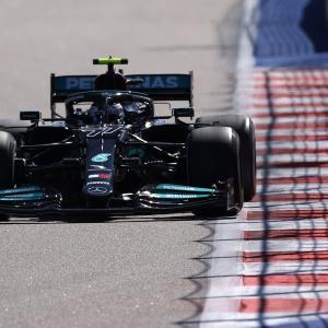 F1ロシアGP フリー走行2回目:ボッタス最速でメルセデスが再び1-2