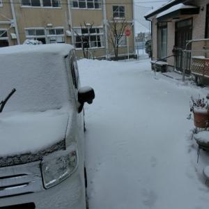 吹雪はおさまりました