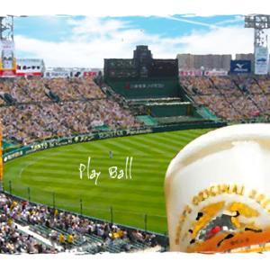 野球とビールCG