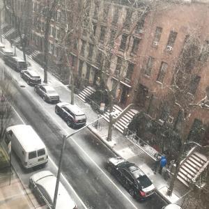 久しぶりのブログ!雪降ってます(*´Д`*)