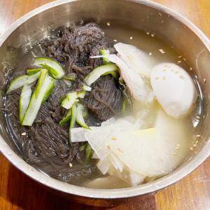 マンハッタンwithコロナ生活 冷麺食べ比べ★2★@Five Senses