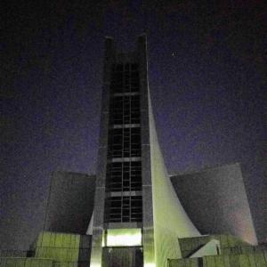 夜の東京カテドラル聖マリア大聖堂@神楽坂店