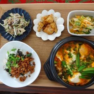 1月のお料理教室 韓国風~♪