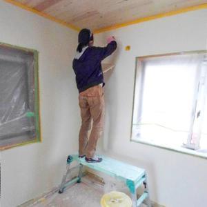 漆喰塗りセルフビルド(DIY) その2:滋賀県草津市自然素材リノベーション工事