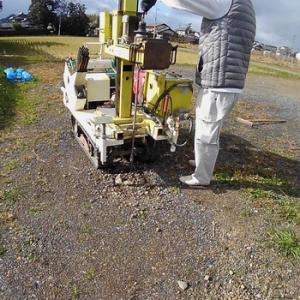 地盤調査等:亀岡市平屋建ての新築工事