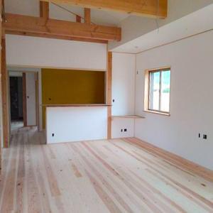 内装仕上げ:亀岡市平屋建ての新築工事