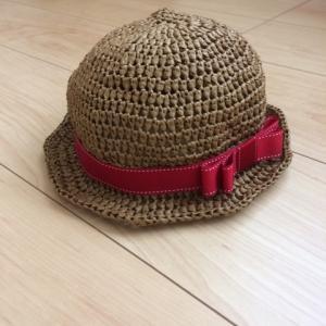 赤ちゃん麦わら帽子