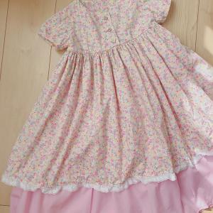 ピンクドレス完成!