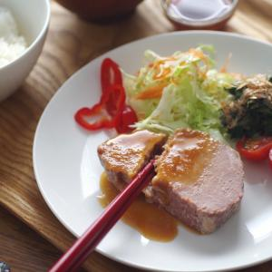 箸で切れちゃう!焼かない生姜焼き