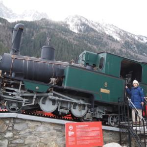 登山鉄道、、変な日本語発見