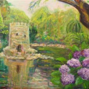 シントラ城のお庭