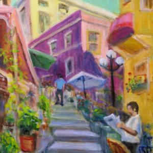 階段の多い街