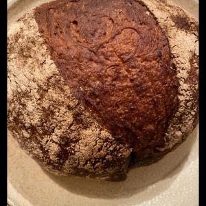 父が焼くパン