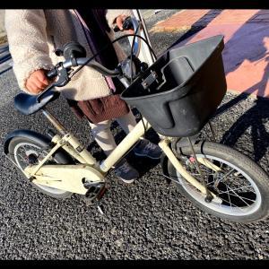 new自転車 お年玉&初詣