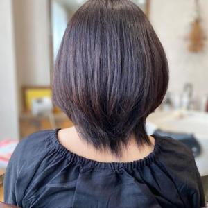 縮毛矯正でクビレ(ひし型)にする方法