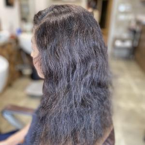 ♯髪の人生が変わる縮毛矯正+デジタルパーマ