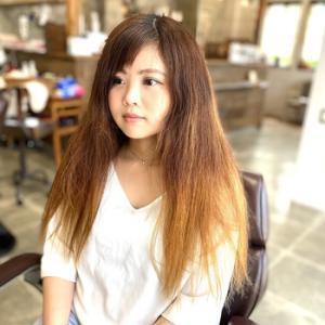 ♯髪の人生が変わる縮毛矯正+カラー