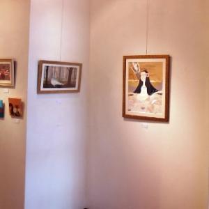 布地を使った素敵な絵画作品展…矢﨑悠美個展・紡ぎ