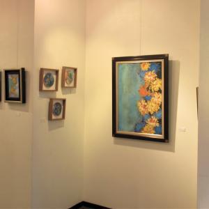 花と鳥、美しい日本画作品がお楽しみいただけます!…「鳥垣英子展・花笑う時」