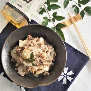 ボーソー米油で牛肉と新玉ねぎのサッと炒め