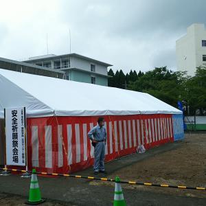 藤田学院交流センター新築工事 地鎮祭でした