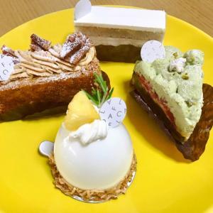ケーキとパンと温泉と魚介