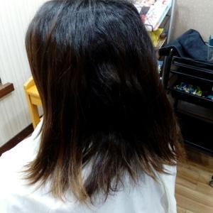 縮毛矯正&カラー