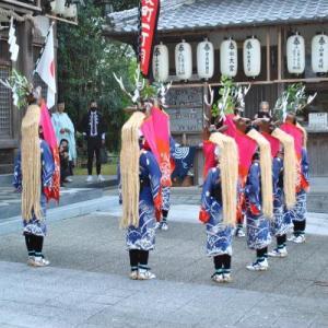 宇和津彦神社秋祭り2020