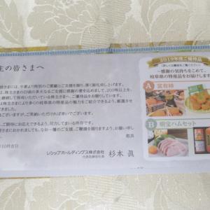 【株主優待】『レシップHD』 200株 x1