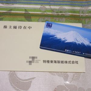 【株主優待】『特種東海製紙』 100株 x2