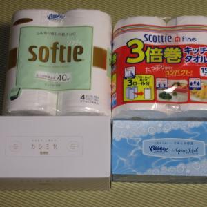【株主優待】『日本製紙』 100株 x3