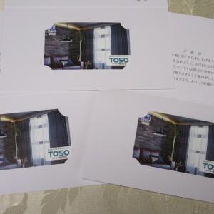 【株主優待】『トーソー』 100株 x3