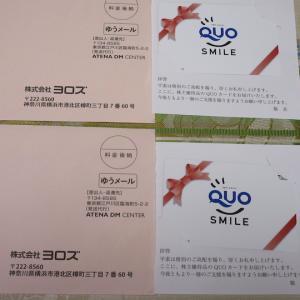 【株主優待】『ヨロズ』 100株 x2