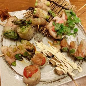 神レベル✨肉巻き野菜串♡スクール界隈グルメ情報@名古屋市港区