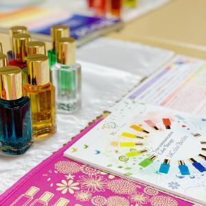 カラーセラピーをエステサロンに導入〜企画中の起業女子