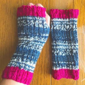●編み物と刺繍と●