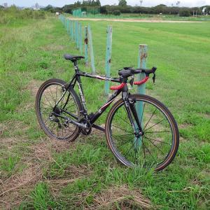 200910多摩川河川敷 dirty ride