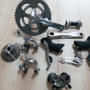自転車を組む楽しみの一つ