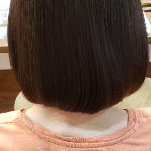 加齢毛に優しい縮毛矯正です