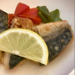 魚臭には酸味のあるフルーツで・・・
