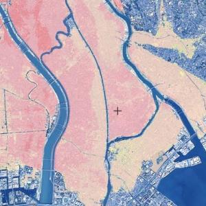 東京湾ハザードマップ