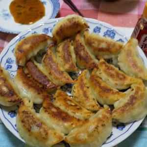 お昼ごはんは「焼餃子」