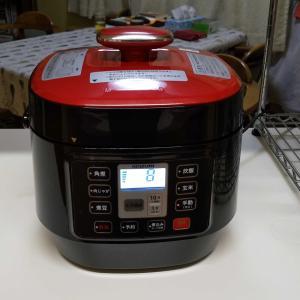 電気圧力調理釜を購入しました